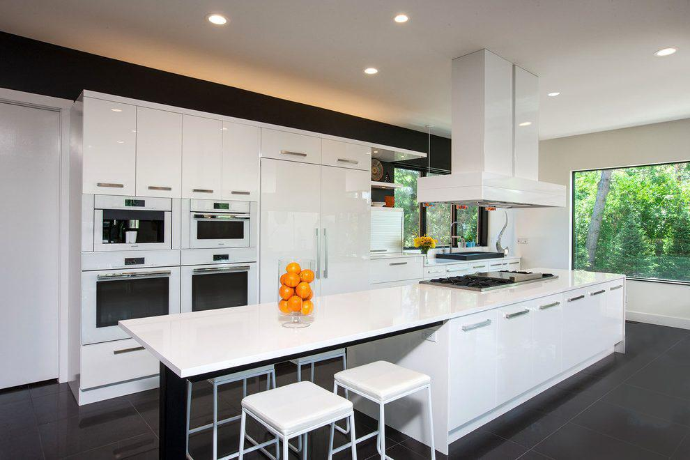 Image of: Contemporary Kitchen Island Bench