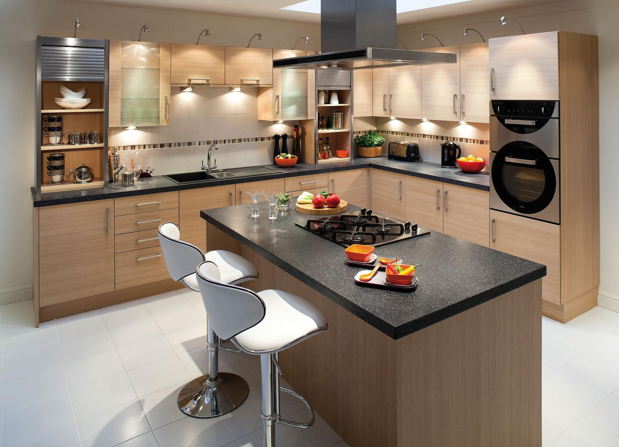Image of: Contemporary Kitchen Island Images