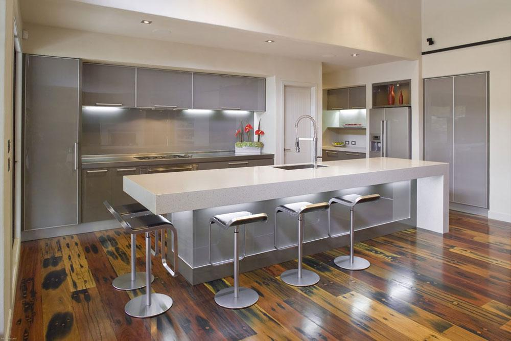 Image of: Contemporary Kitchen Island