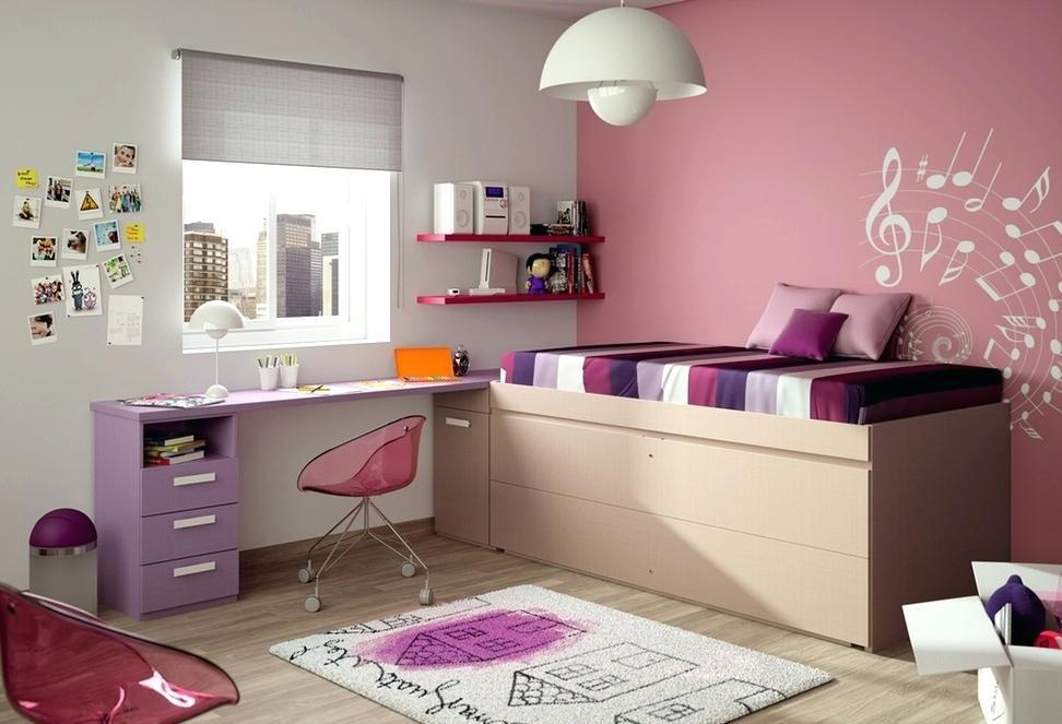 Image of: Cool Beds For Teenage Girl