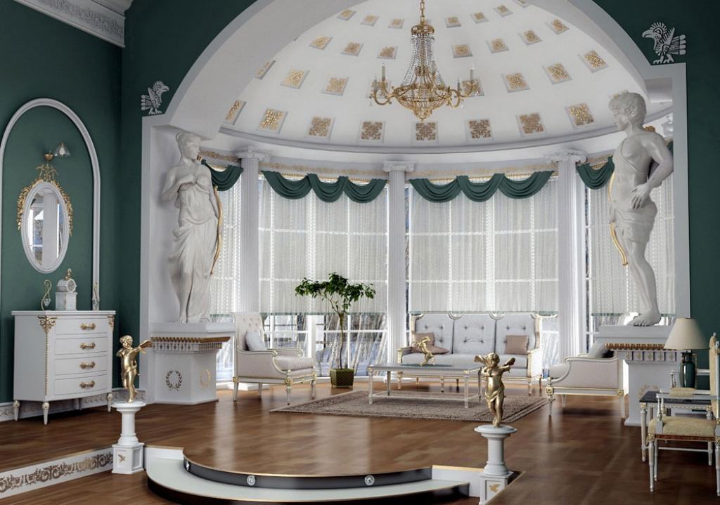Image of: Country Victorian Decorating Ideas