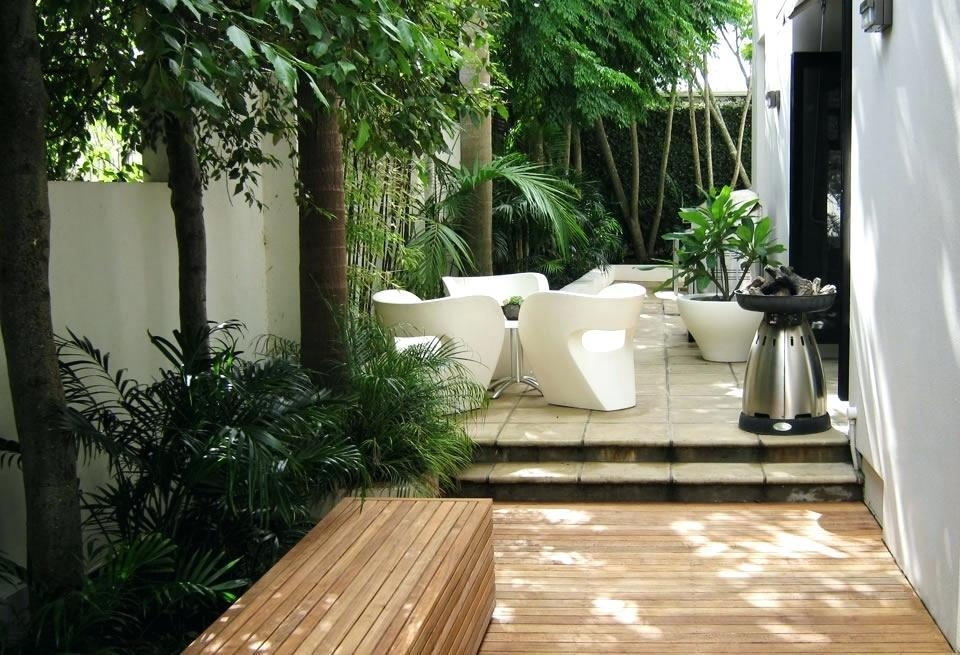 Image of: Attractive Courtyard Garden Design Ideas