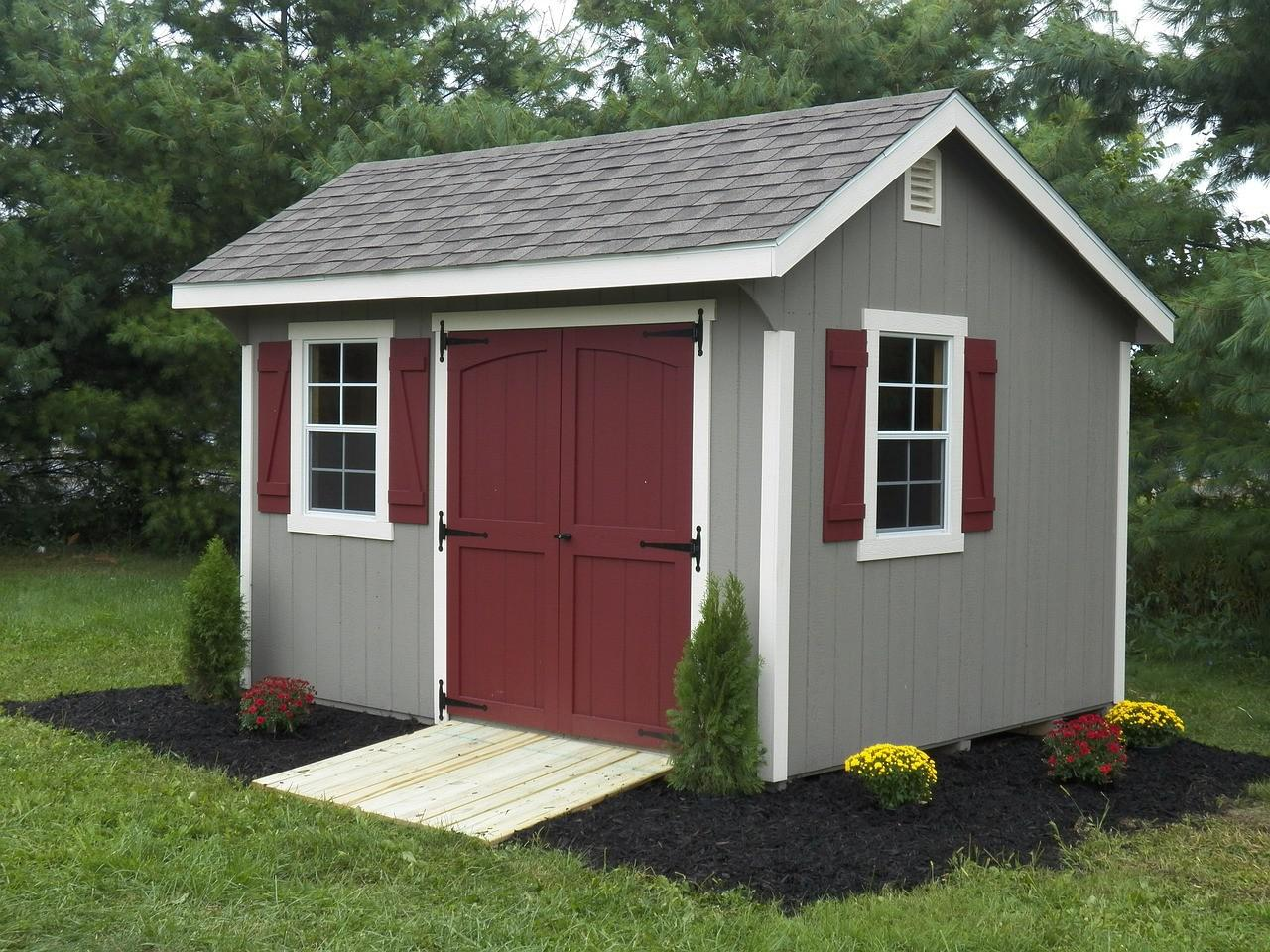Image of: Cute Garden Shed Pictures