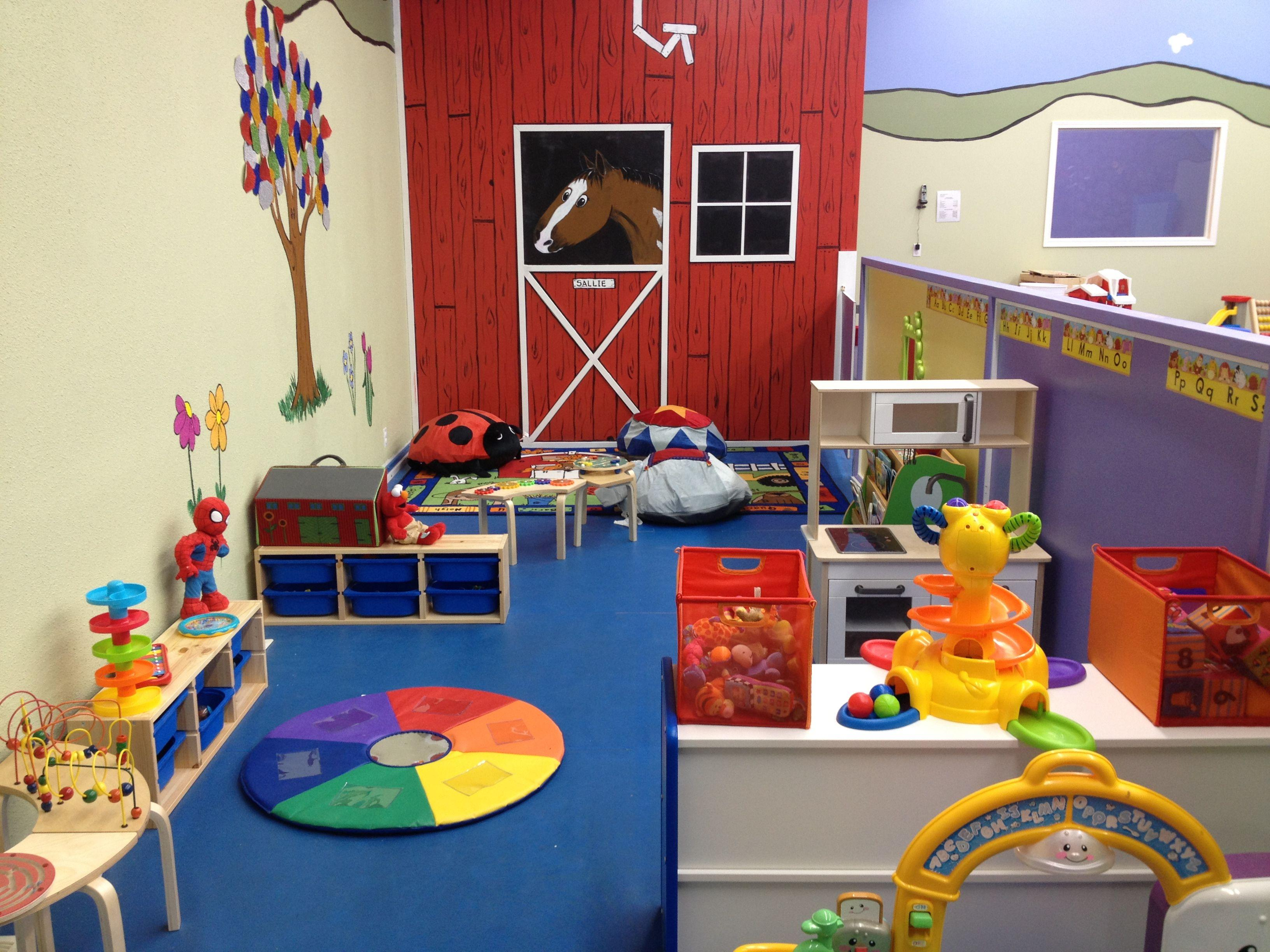 Image of: Daycare Decorating Ideas Infants