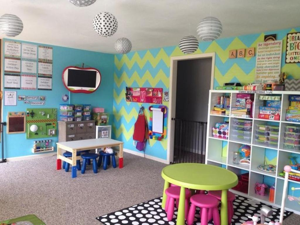Image of: Daycare Room Decorating Ideas