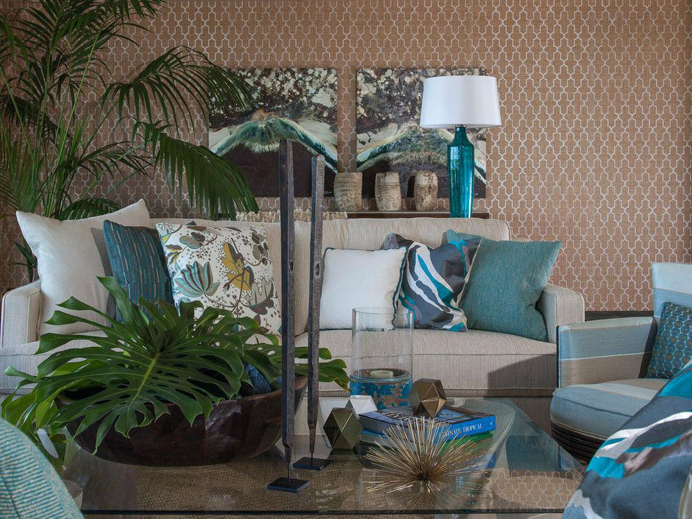 Image of: Decorating With Aqua And Gray