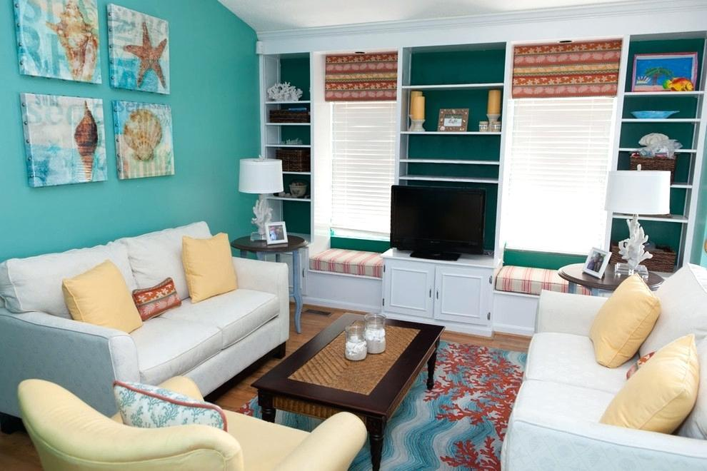 Image of: Decorating With Aqua Blue