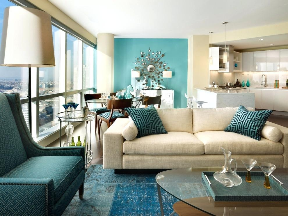 Image of: Decorating With Aqua