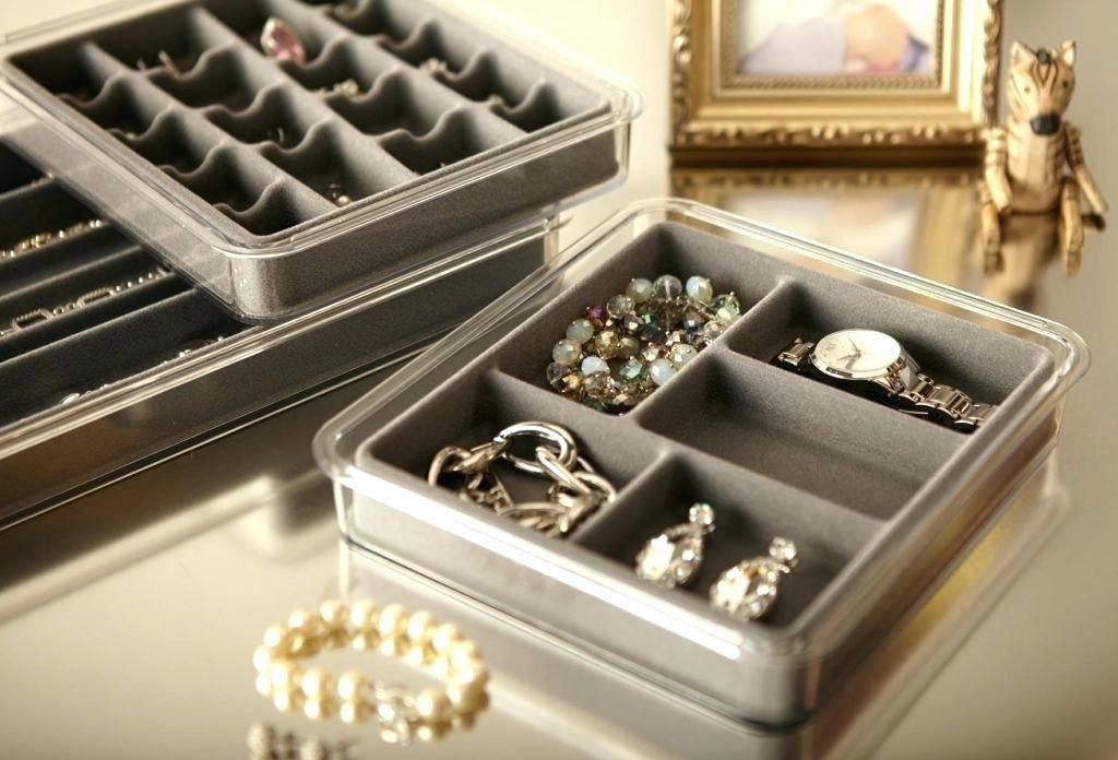 Image of: Drawer Jewelry Organizer Ideas