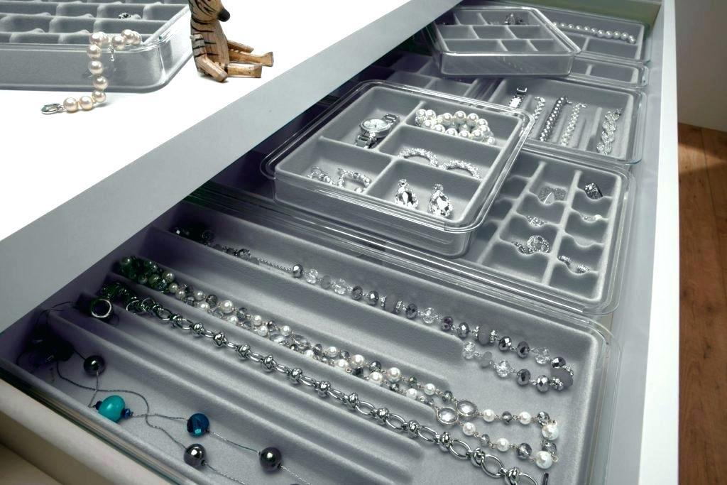 Image of: Drawer Jewelry Organizer Ikea