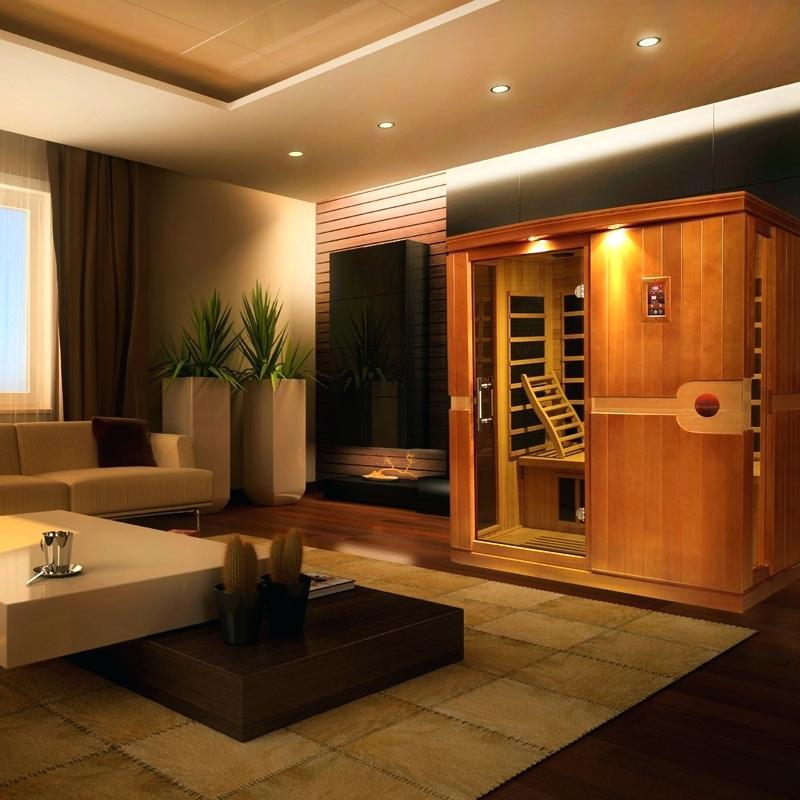 Image of: Elegant Far Infrared Sauna Designs