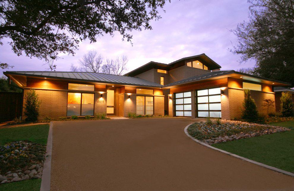 Image of: Exterior House Lighting Design