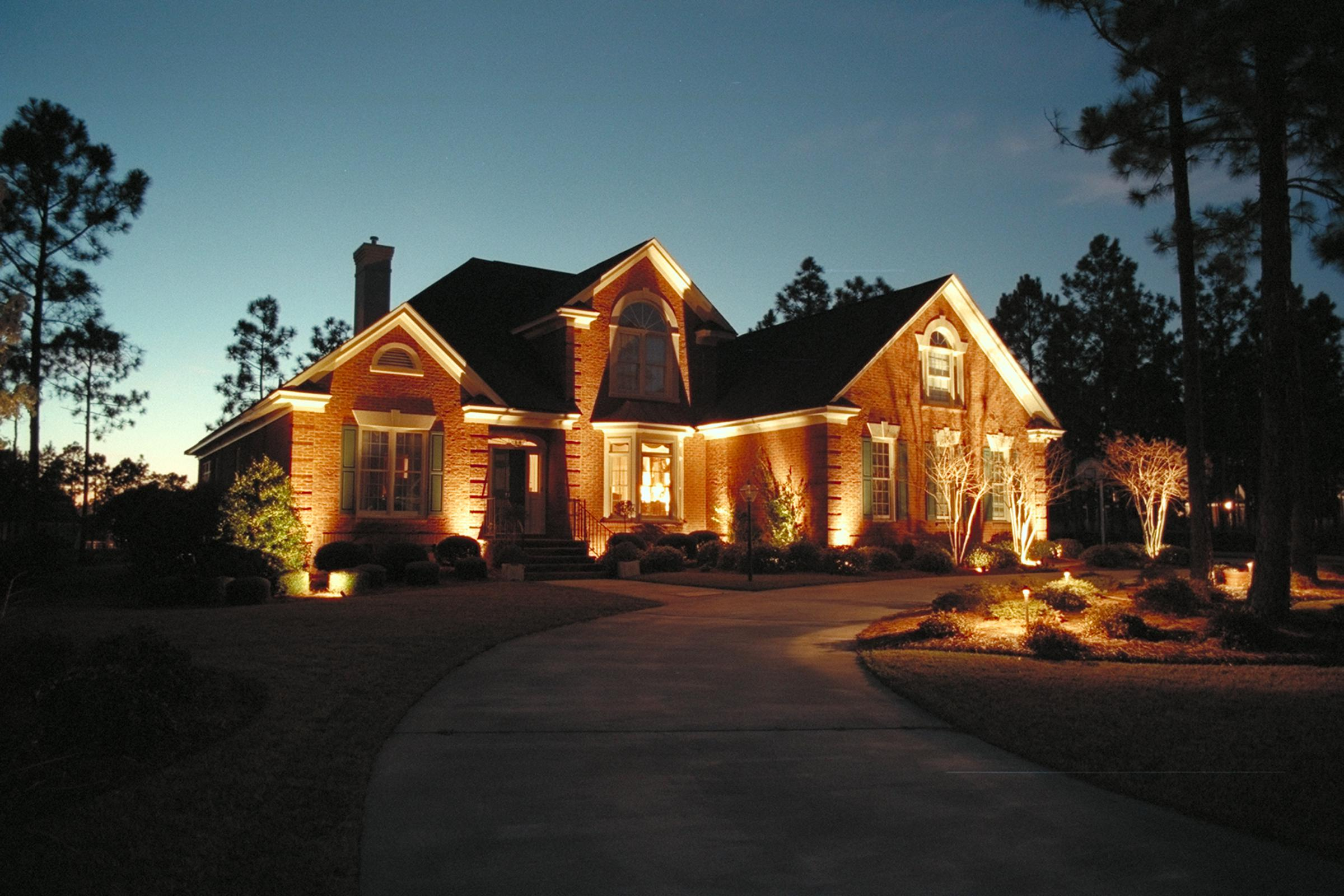 Image of: Farmhouse Exterior Lighting