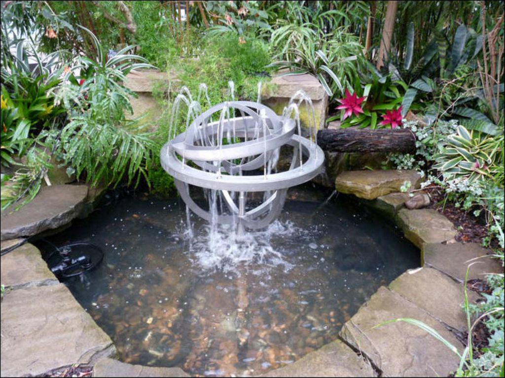 Image of: Fountains For Home Gardens