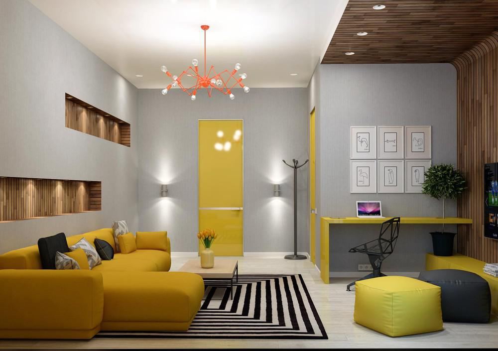 Image of: Full Colour Living Room