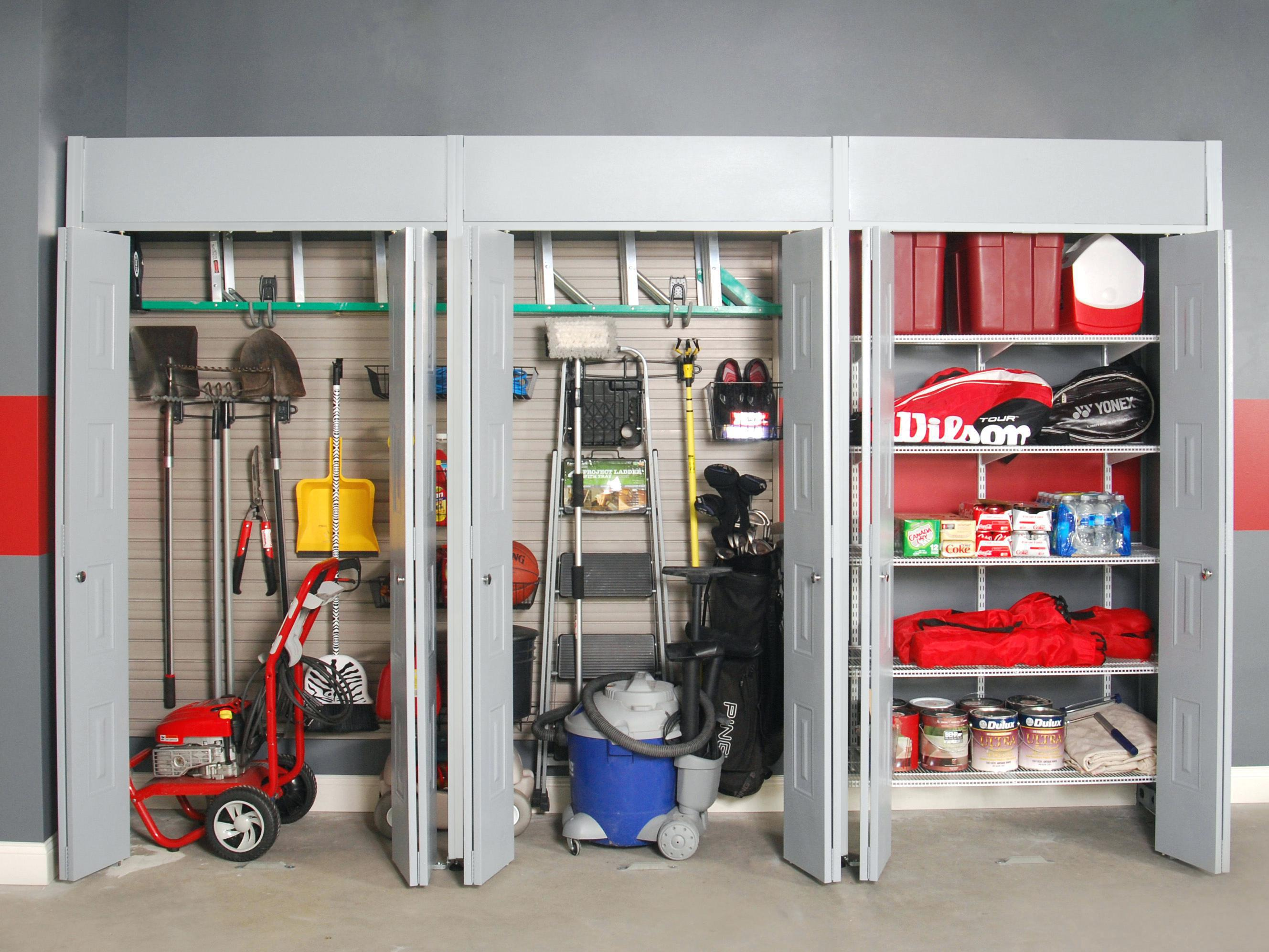Image of: Garage Storage Ideas Lowes