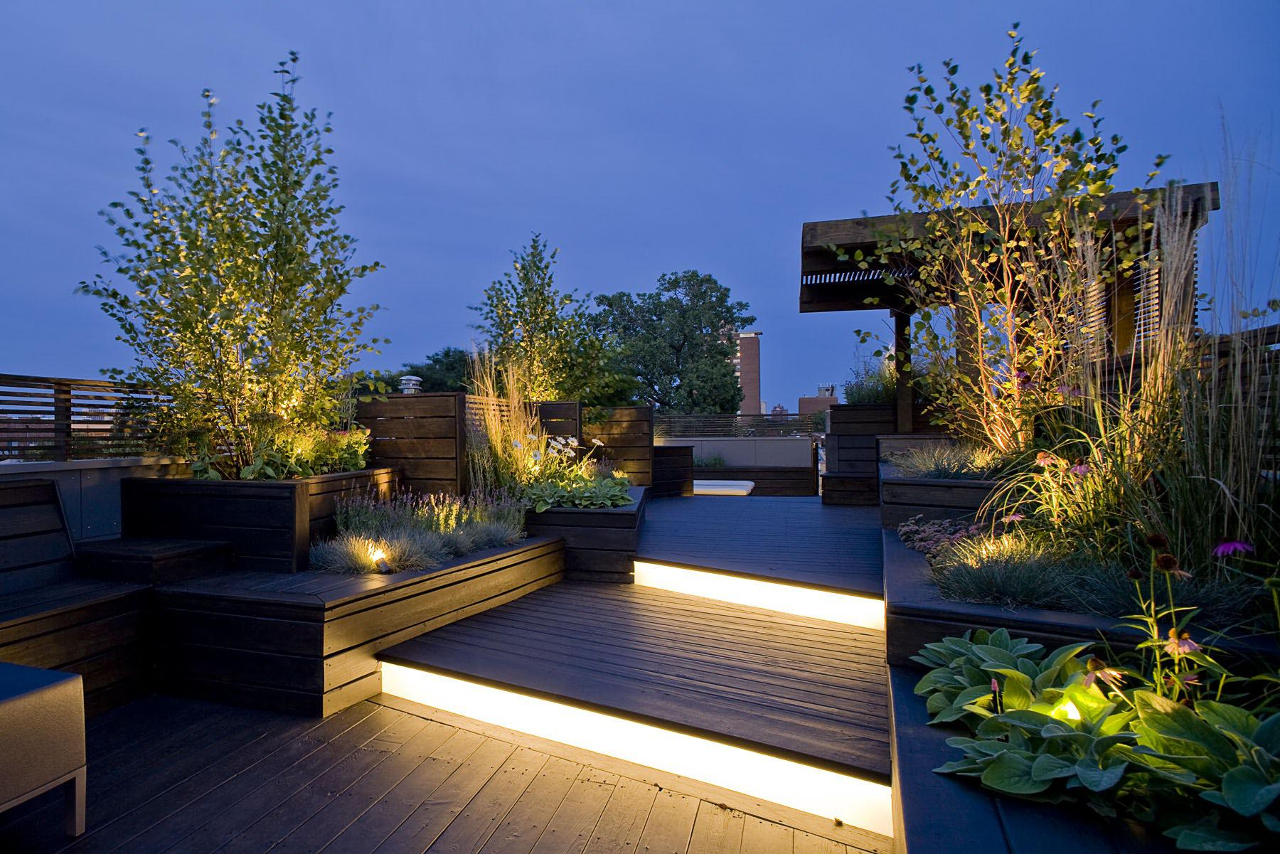 Image of: Garden In Terrace