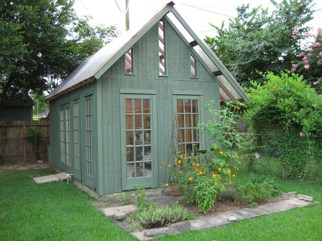 Image of: Garden Shed Images