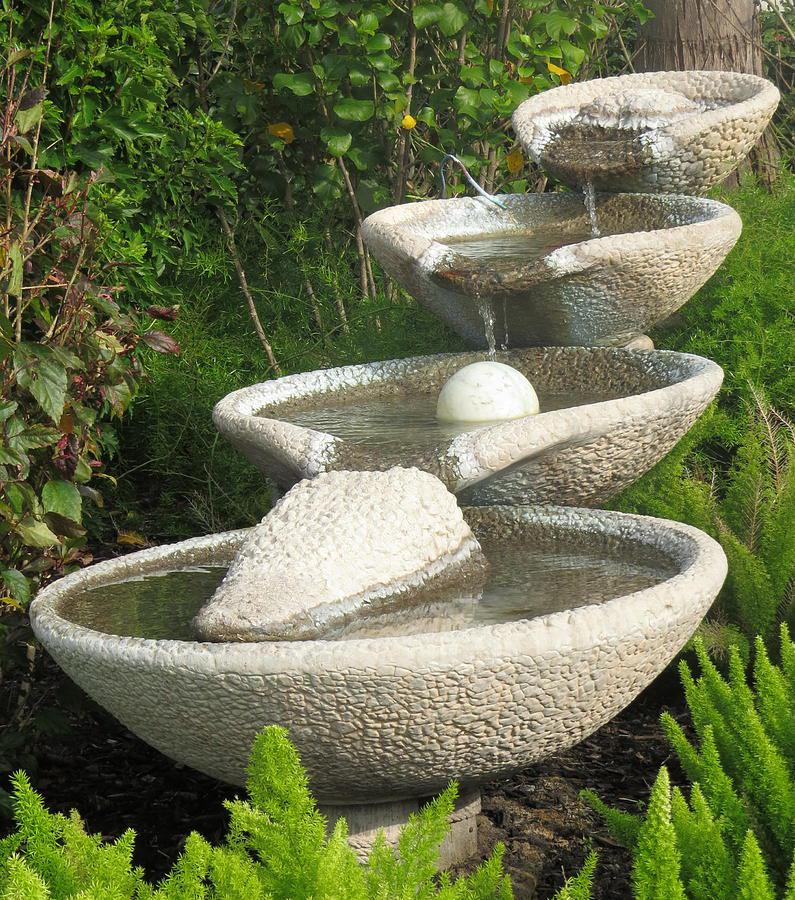 Image of: Garden Water Fountains Ebay