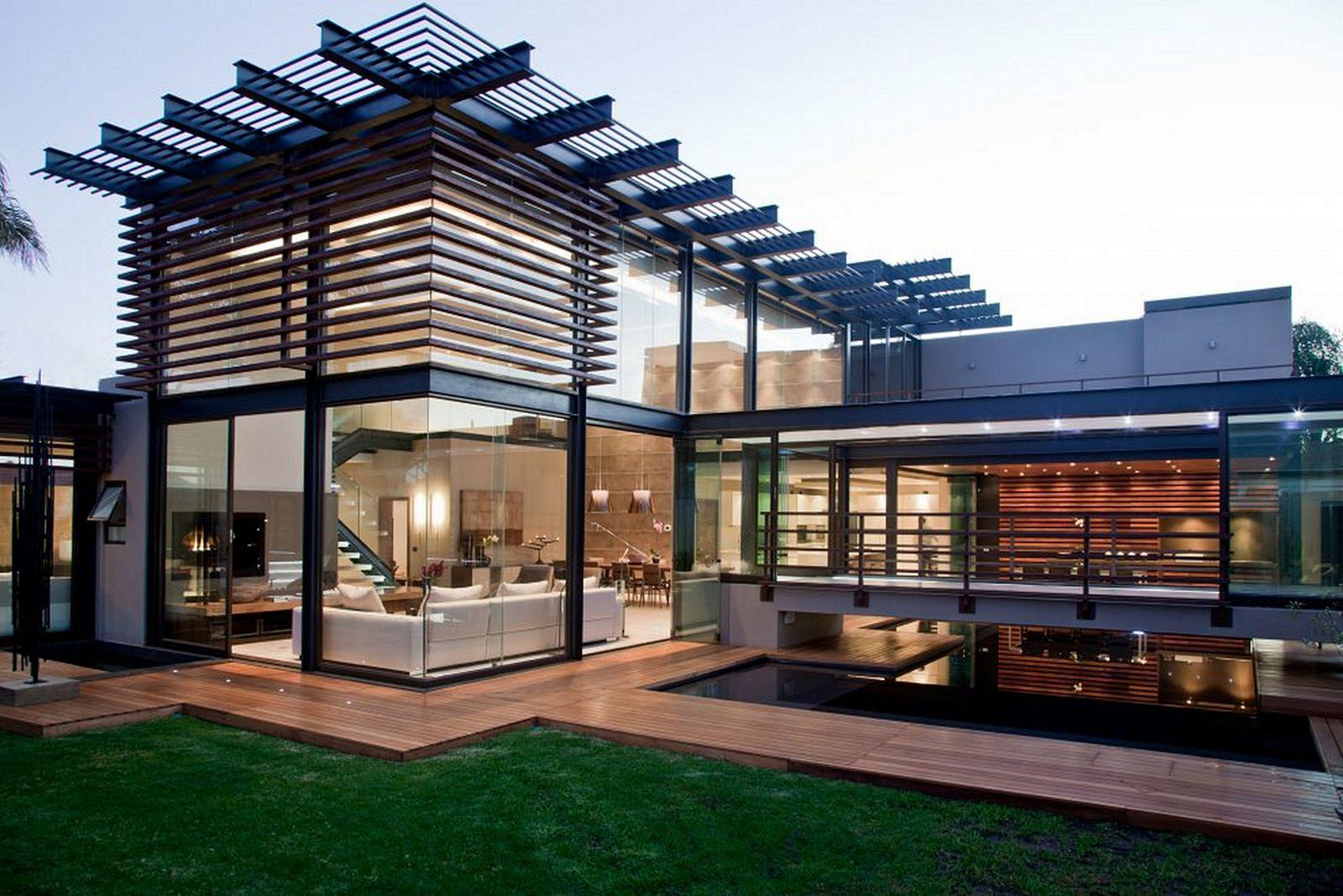 Image of: Glass House Design