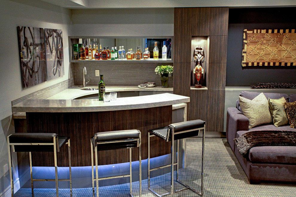 Image of: Home Bar Ideas Small