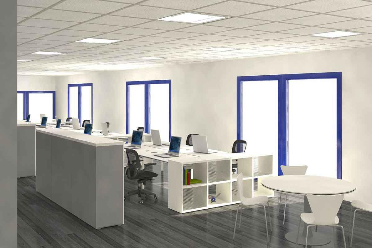 Image of: Home Office Designs And Layouts