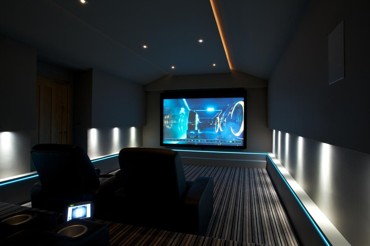 Image of: Home Theater Lighting Systems