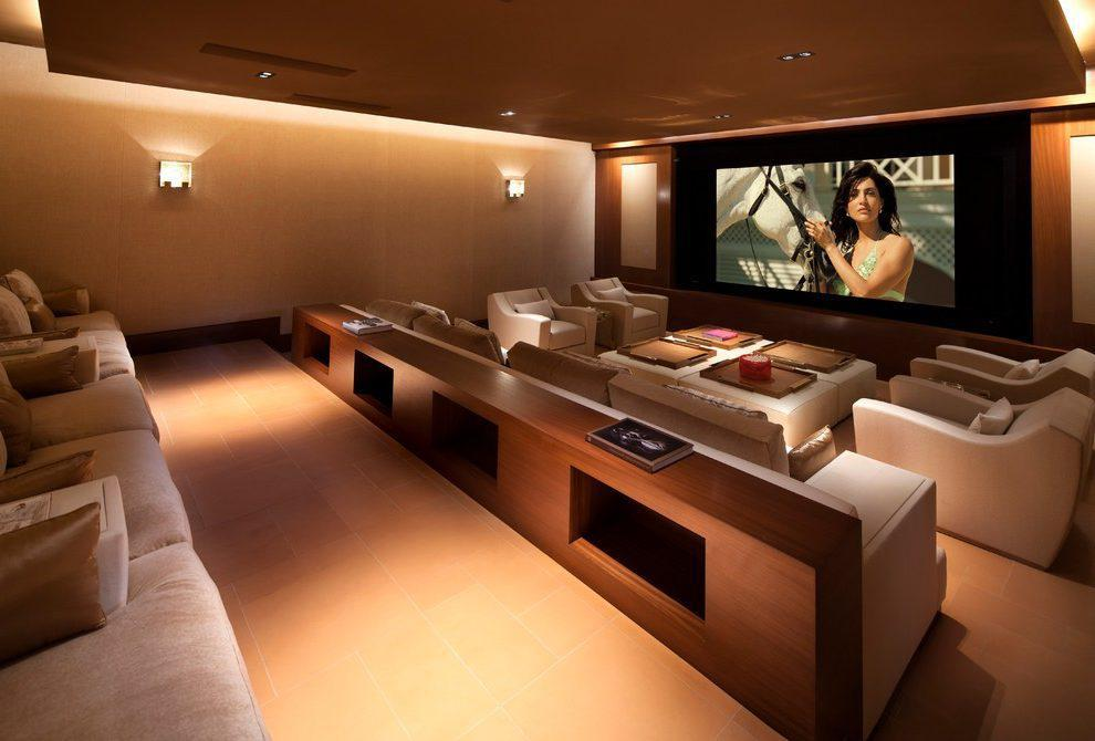 Image of: Home Theatre Lighting Design