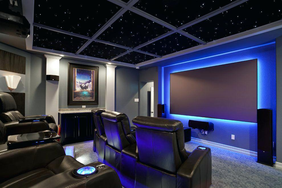 Image of: Home Theatre Lighting Fixtures