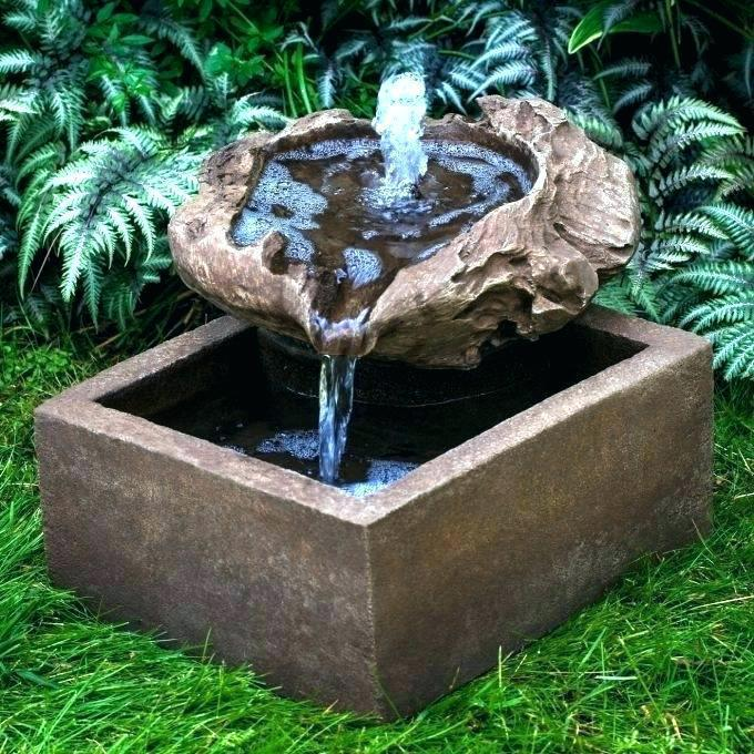 Image of: Homemade Water Features Fountains