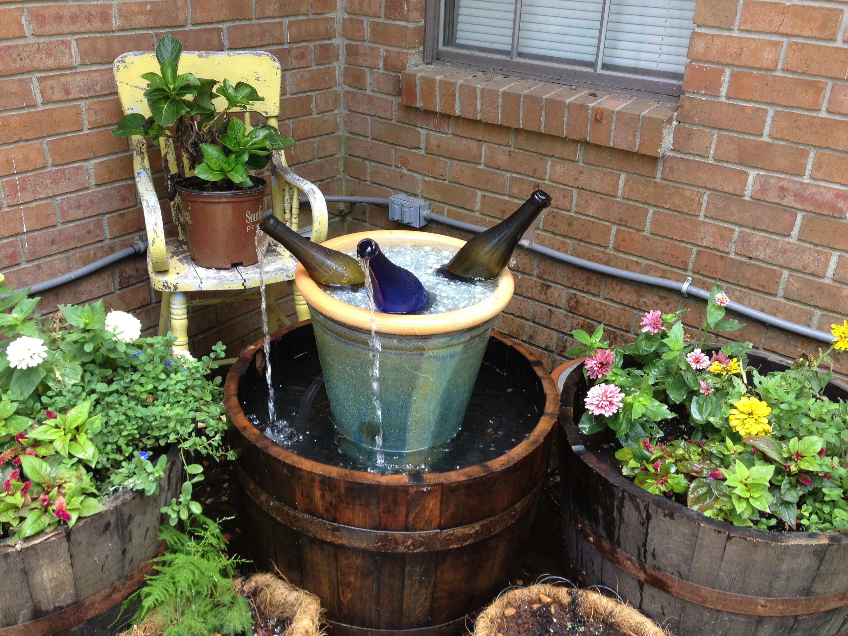 Image of: Homemade Water Fountain