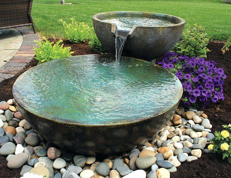 Image of: Homemade Water Fountains Images