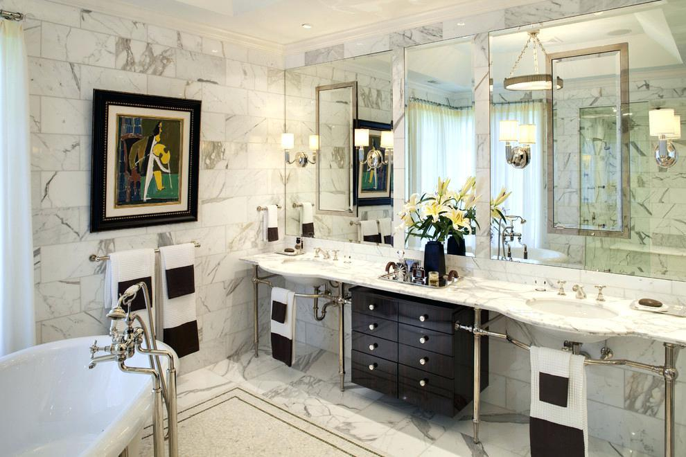 Image of: How To Decorate A Bathroom Countertop