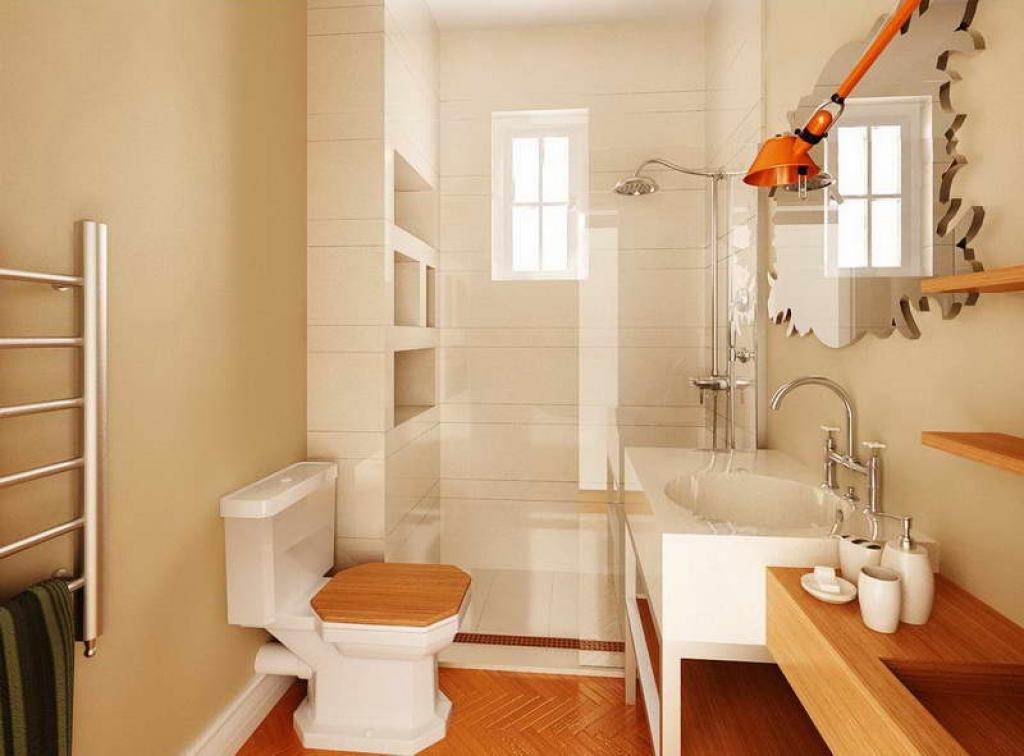 Image of: How To Decorate A Bathroom On A Budget