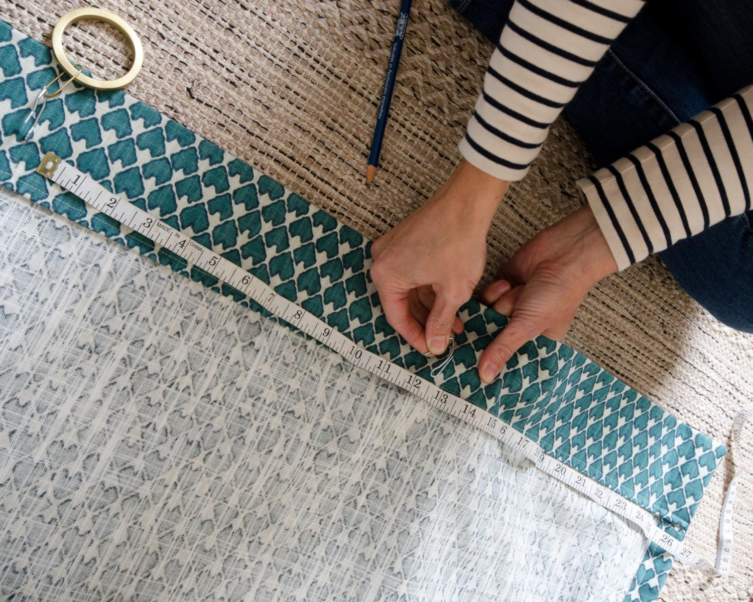 How To Sew Curtain