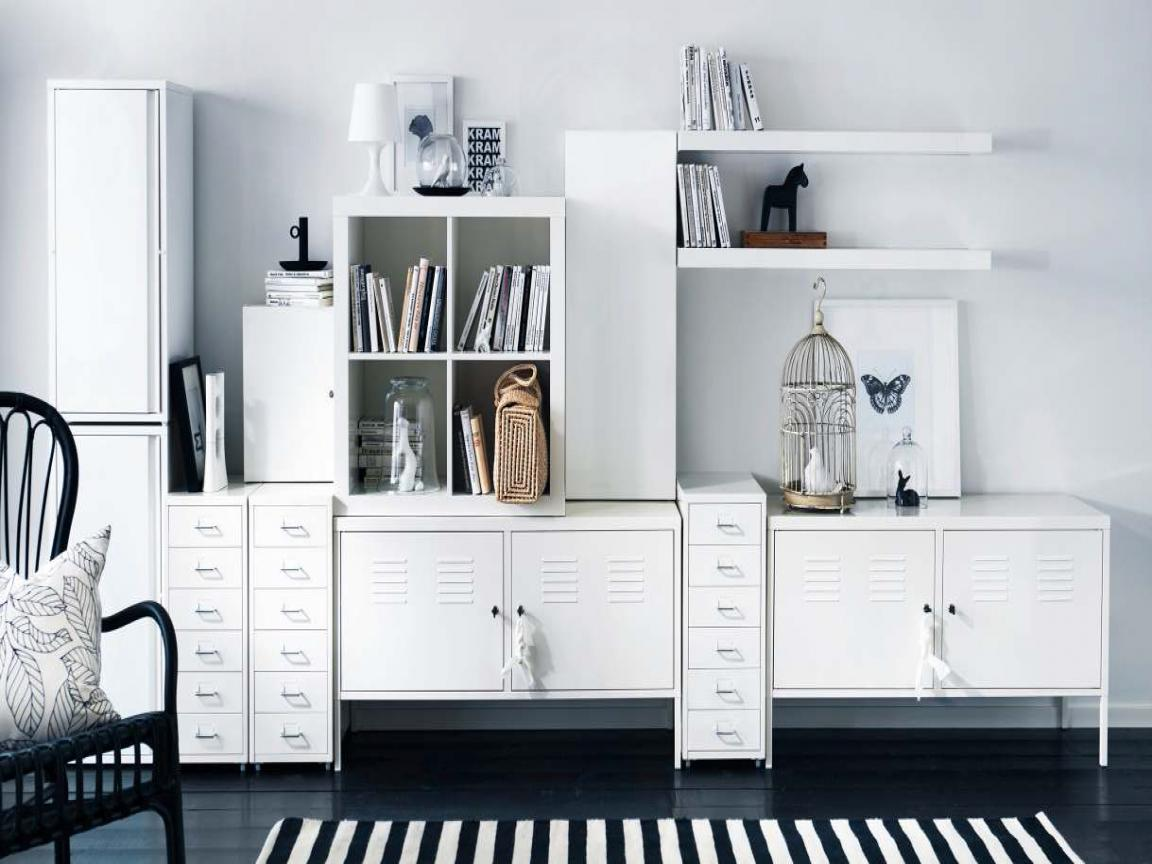 Image of: IKEA Storage Organization Design