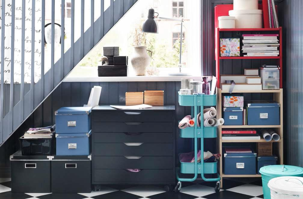 Image of: IKEA Storage Organization