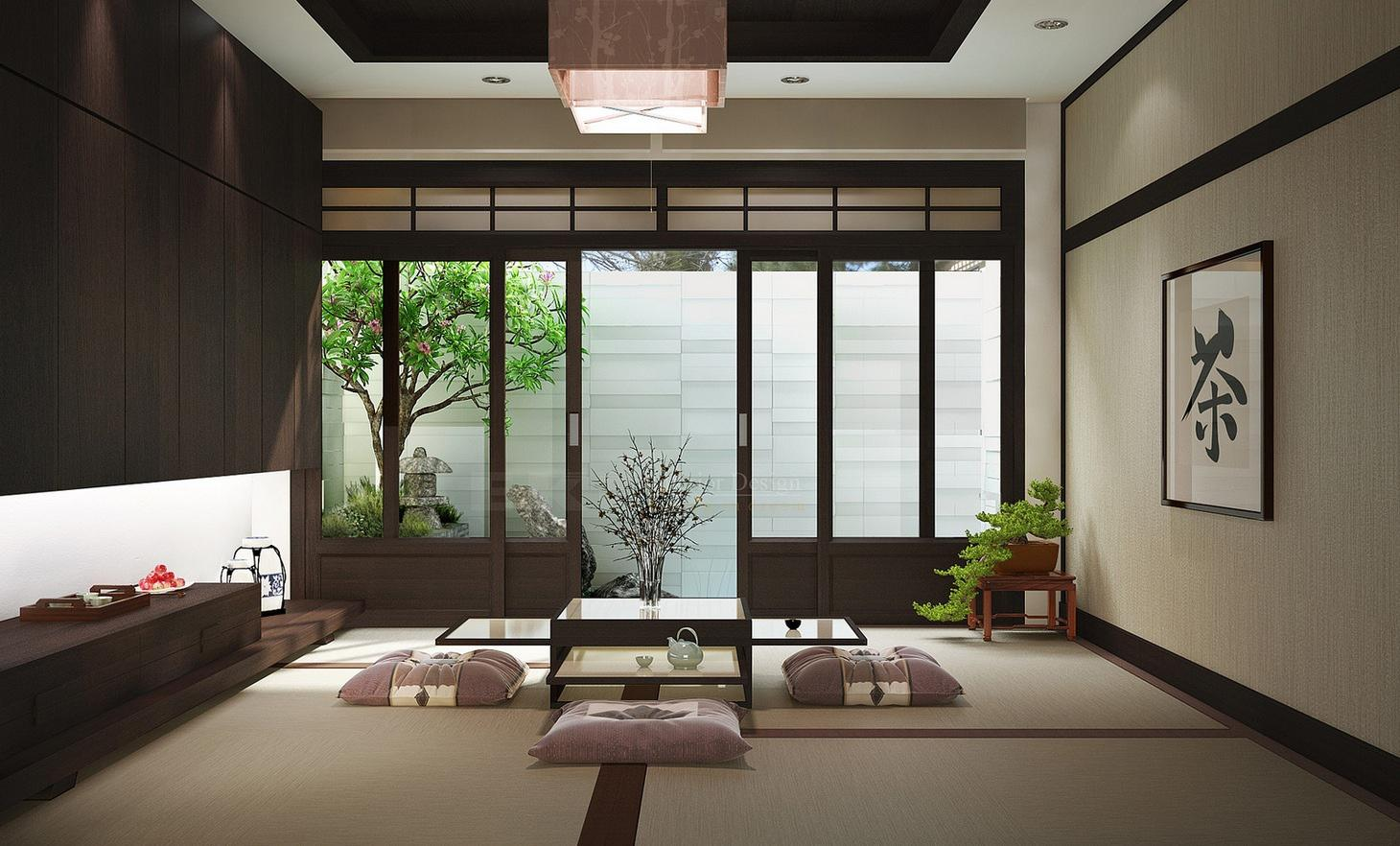 Image of: Japanese Style Homes Design
