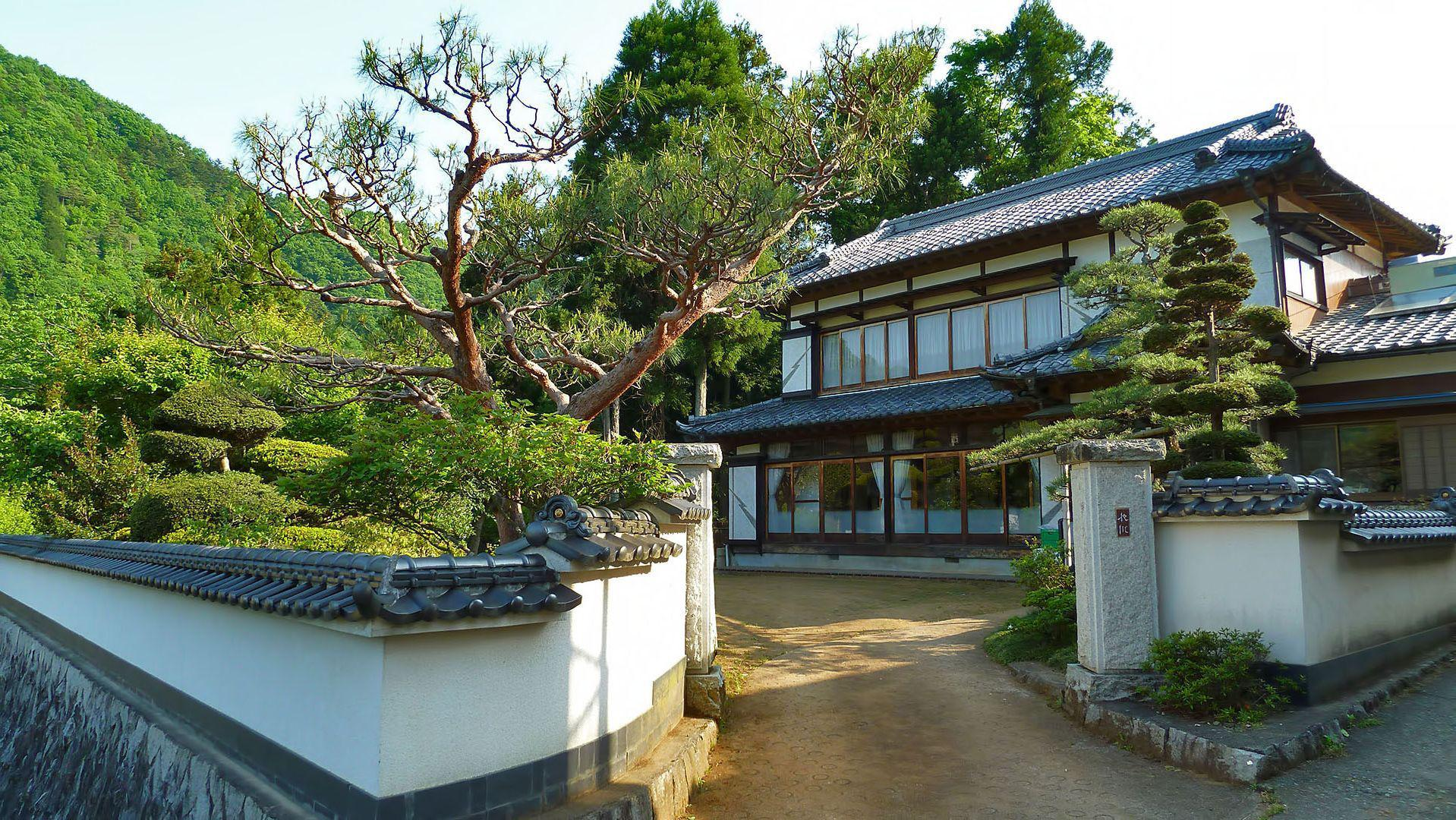 Image of: Japanese Style Homes Ideas