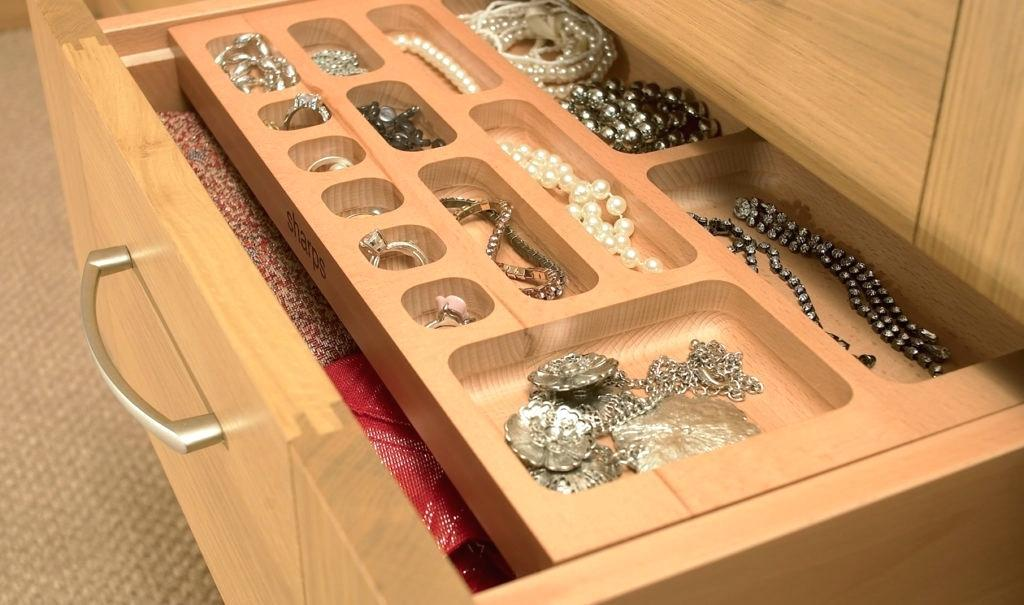 Image of: Jewelry Drawer Organizer Diy