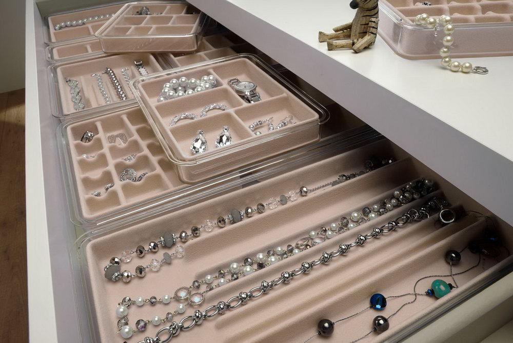 Image of: Jewelry Drawer Organizer Ikea