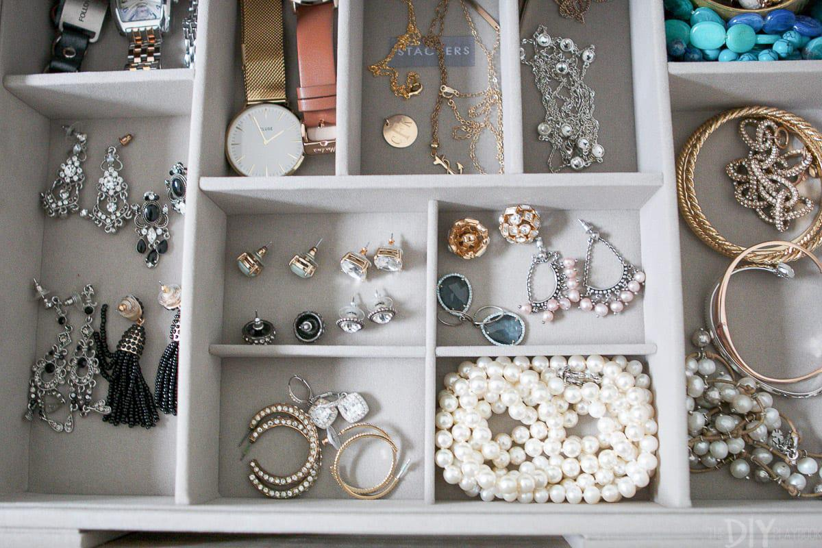 Image of: Jewelry Drawer Organizer Target