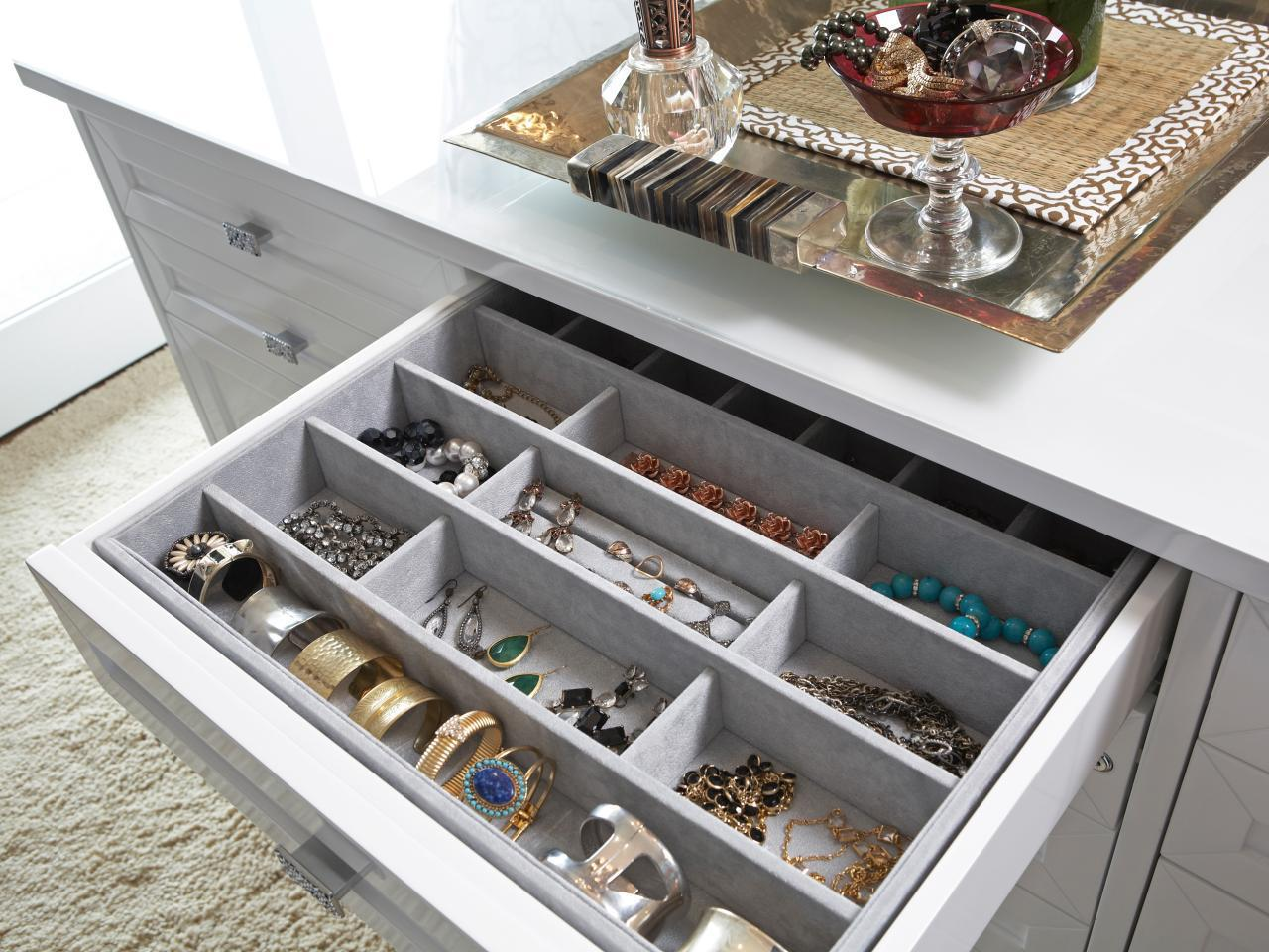 Image of: Elegant Jewelry Drawer Organizer Walmart