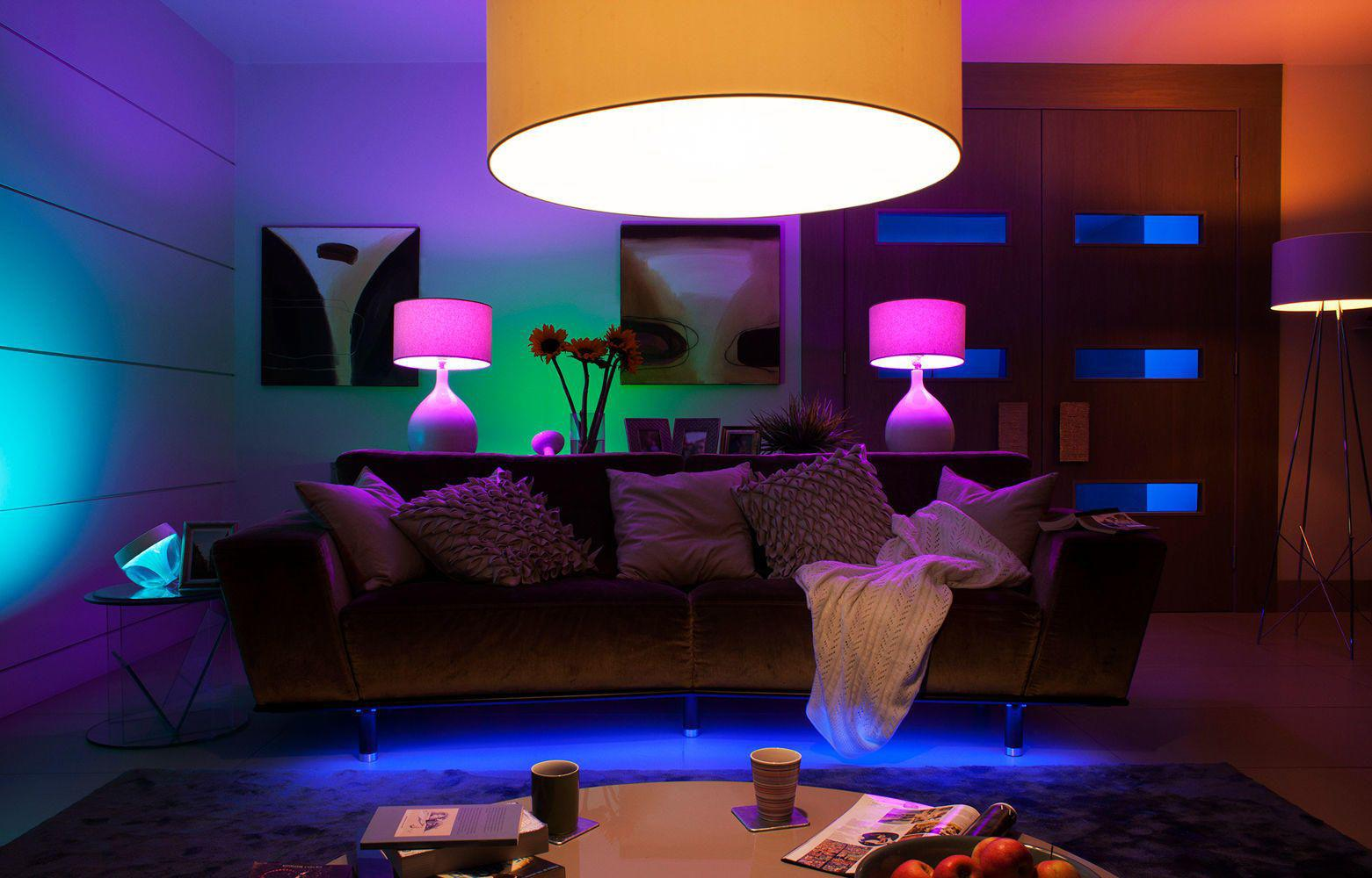 Image of: Living Room Lamp Lighting Ideas
