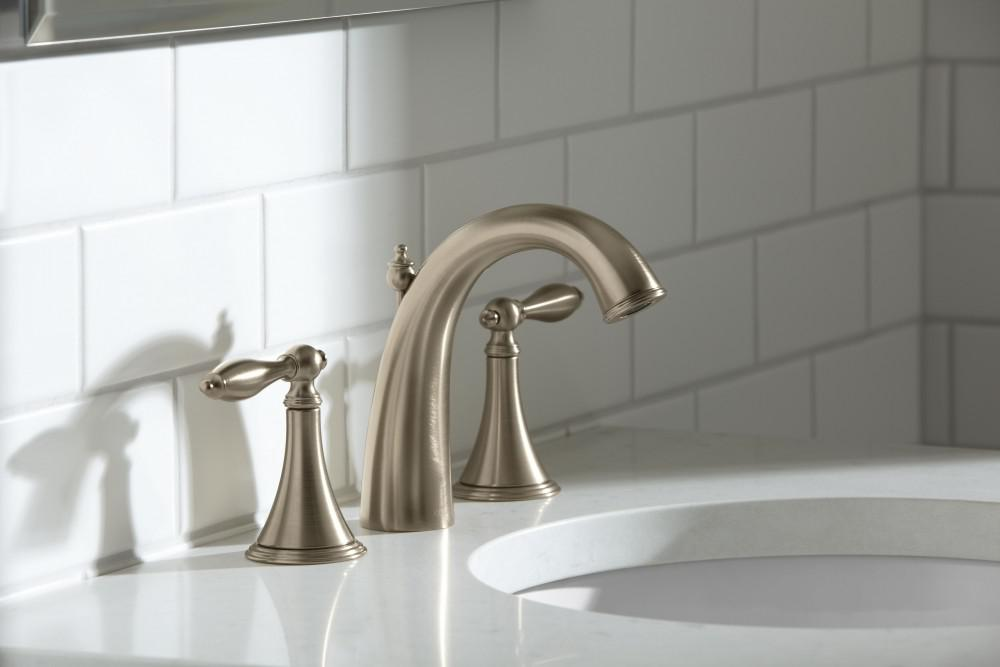 Image of: Lowes Bathroom Faucet Fixtures