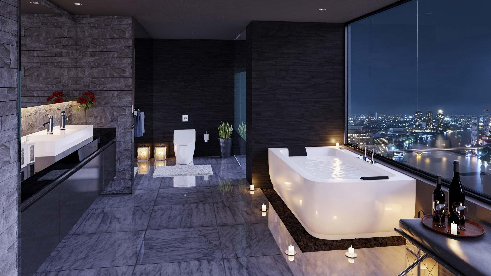 Image of: Luxury Bathroom Design Modern