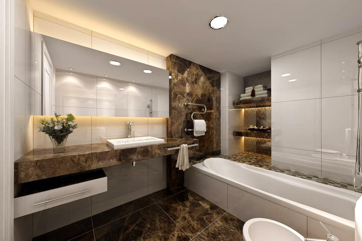 Image of: Luxury Bathroom Designs Gallery
