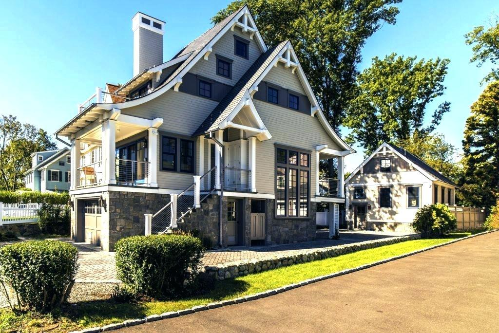 Image of: Luxury Shingle Style House Plans