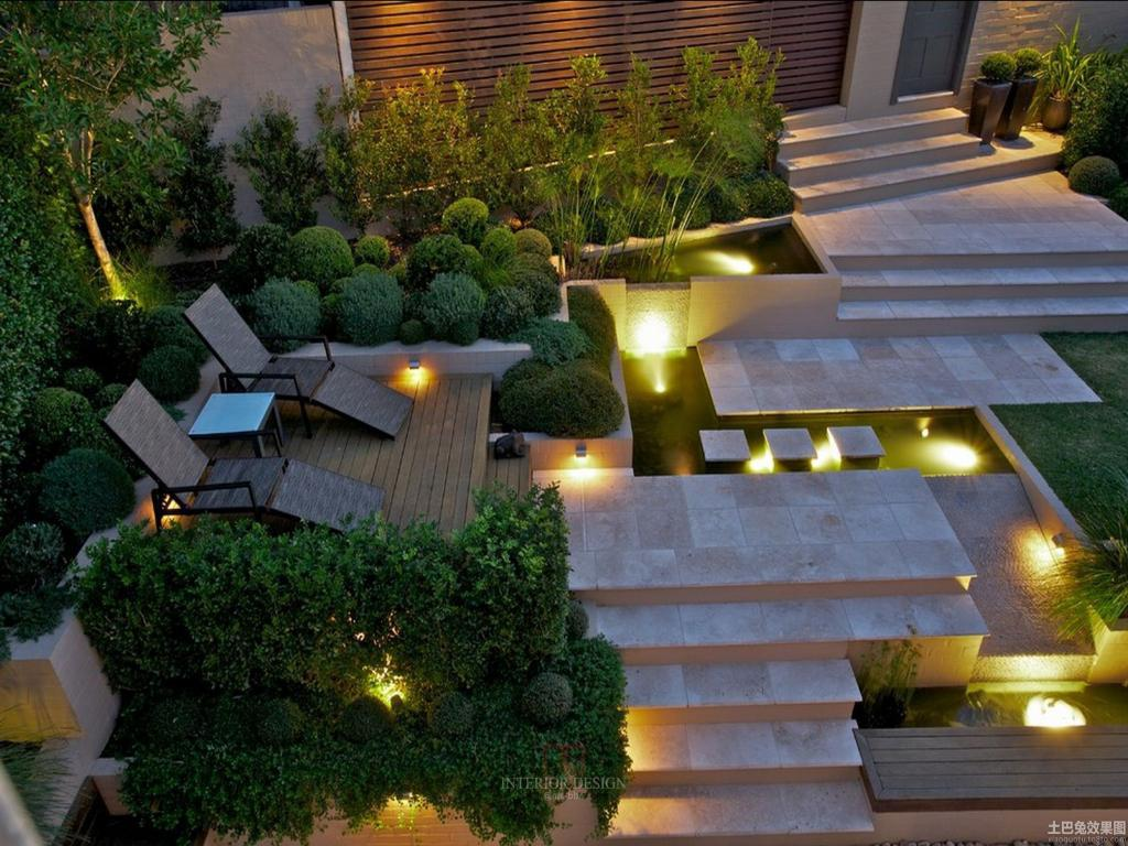 Image of: Modern Garden Decorations