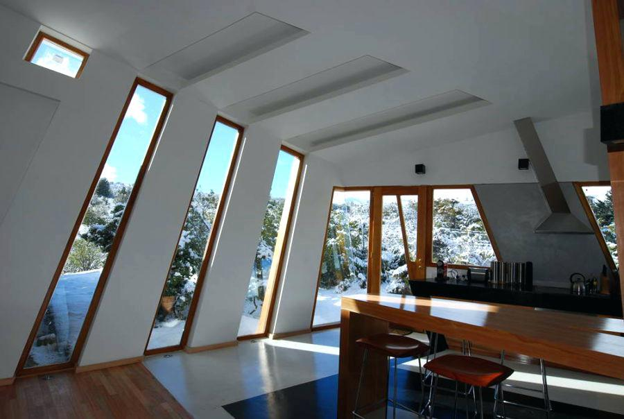 Image of: Modern House Window Designs